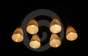 Modern Living-room Lamp Royalty Free Stock Images - Image: 15913009