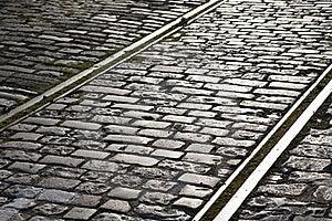 Tram Tracks Royalty Free Stock Photo - Image: 15913475