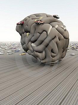 Car Brain Royalty Free Stock Photos - Image: 15918438