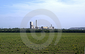 Heat And Power Plant Stock Photo - Image: 15918920