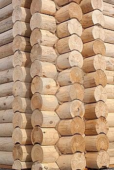 Corner Of Log Cabin Stock Images - Image: 15919294