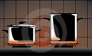 Series Of Images Of Kitchen Ware Royalty Free Stock Photo - Image: 15919675