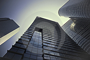 Towers Stock Image - Image: 15920471