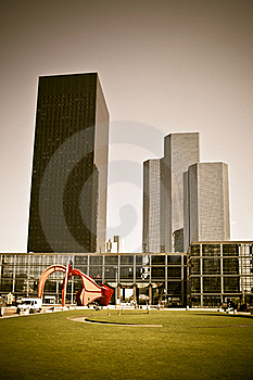 Paris La Defense Stock Photography - Image: 15920502