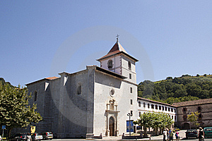 Church In Basque Country Stock Photography - Image: 15920612