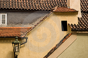 Golden Lane, Prague, Czech Rep. Stock Photography - Image: 15923962