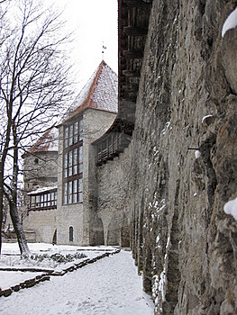 Tallinn Castle Royalty Free Stock Image - Image: 15924866