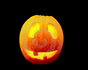 Pumpkins For Halloween Royalty Free Stock Photo - Image: 15925395