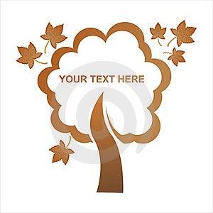 Autumn Tree Frame Stock Photos - Image: 15925453