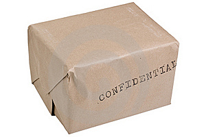 Confidential Box Stock Images - Image: 15926414
