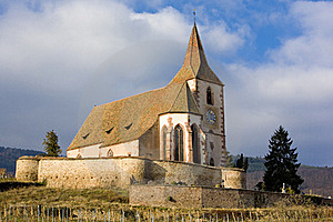 Hunawihr, Alsace Royalty Free Stock Photography - Image: 15928367