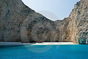 Navagio Beach Royalty Free Stock Images - Image: 15928649
