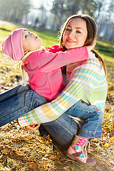 Mother And Daughter Royalty Free Stock Image - Image: 15930296