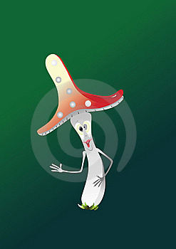 Fairy Mushroom Stock Photography - Image: 15930932