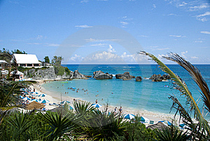 Tropical Resort Beach Royalty Free Stock Photography - Image: 15933517