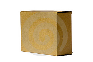 Recycle Brown Paper Box Royalty Free Stock Photos - Image: 15935978
