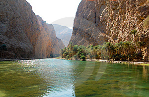 Summer Sun On The Mountain River Stock Image - Image: 15939211