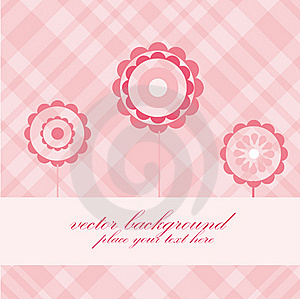 Floral Card Royalty Free Stock Images - Image: 15940319
