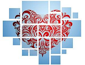 Heart-shape Royalty Free Stock Photos - Image: 15940358