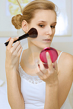 A Woman Royalty Free Stock Photography - Image: 15940787