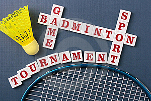 Badminton Royalty Free Stock Photography - Image: 15941927