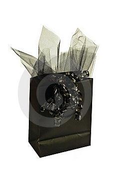 Black Gift Bag Stock Photos - Image: 15942953