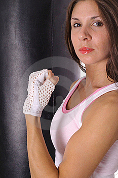 Fitness Trainer Profile Stock Image - Image: 15943721
