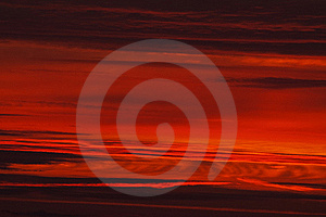 Red Sky In The Morning Royalty Free Stock Photos - Image: 15944528