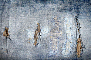 Old Blue Jeans Stock Photography - Image: 15945402