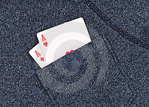 Aces In The Pocket Stock Photography - Image: 15945472
