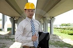 Portrait Of Architect Stock Photo - Image: 15946850