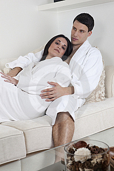Sexy Young Couple In The Morning Stock Images - Image: 15947434