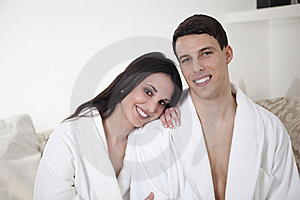 Sexy Young Couple In The Morning Stock Images - Image: 15947554