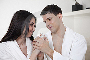 Sexy Young Couple In The Morning Stock Image - Image: 15947991