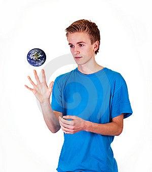 Het Letten Van De Op Aarde Stock Foto - Afbeelding: 15948370