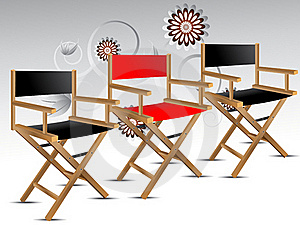Director Chair Stock Images - Image: 15949564