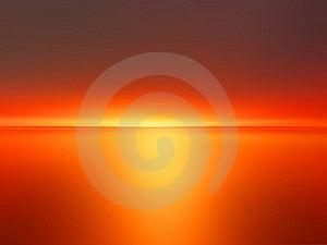 Orange Sunset Stock Images - Image: 15949904