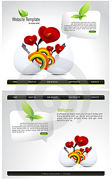 Website Template Stock Photography - Image: 15950112