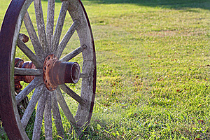 Wagon Wheel Royalty Free Stock Photography - Image: 15952347