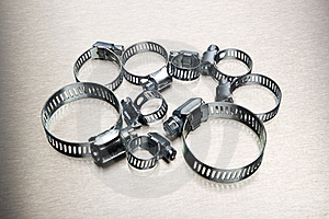 Hose Clamp Assortment Stock Images - Image: 15952434