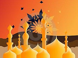 Islamic Illustration Stock Photo - Image: 15952990
