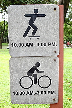 Sign Spin Bicycle & Play Stock Photos - Image: 15953573
