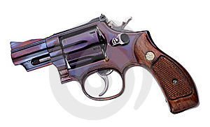 Smith Wesson .357 Short Royalty Free Stock Photos - Image: 15953898