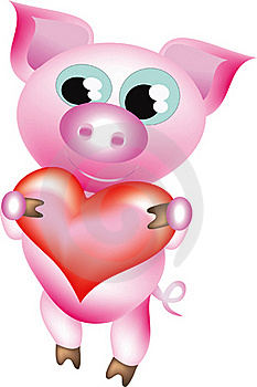Pretty Pig Stock Images - Image: 15955114