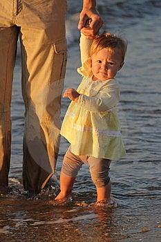 Child Walks Stock Images - Image: 15955774