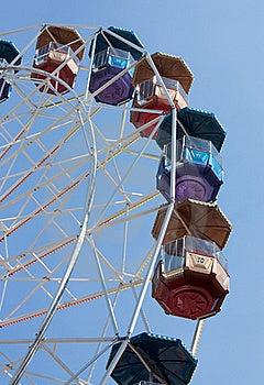 Big Wheel. Nobody Royalty Free Stock Photography - Image: 15956737
