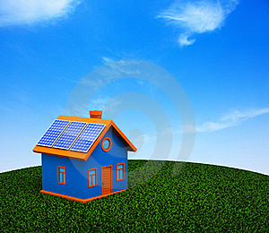 Environmental House Royalty Free Stock Images - Image: 15963359