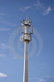 Lot Of Transmission Antennas GSM Royalty Free Stock Photos - Image: 15963378