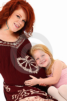 Mother Daughter Baby Royalty Free Stock Images - Image: 15966709