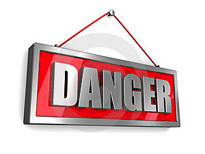 Danger Sign Stock Photos - Image: 15967513